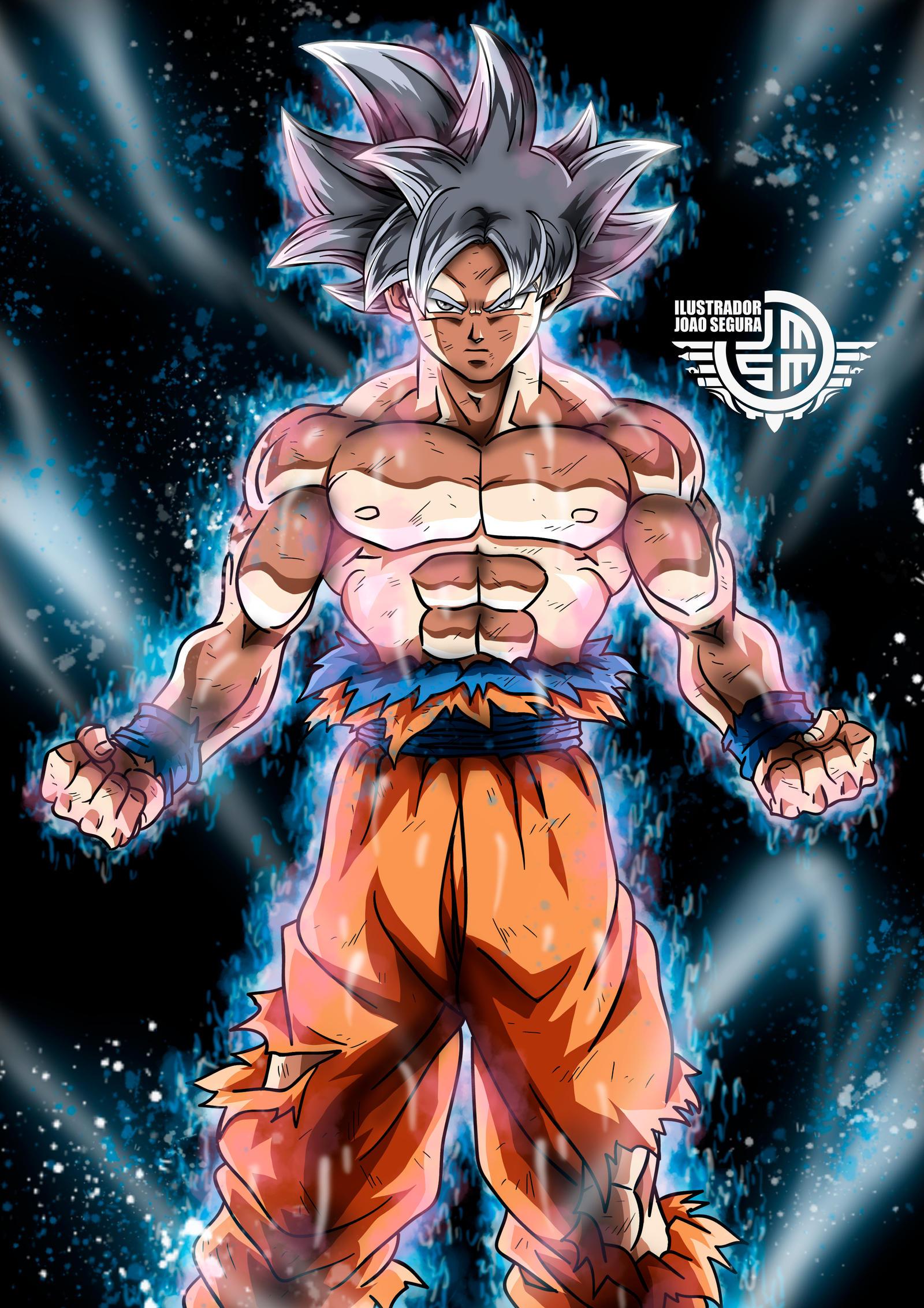 Goku Migatte No Gokui Dominado by ilustradorjoaosegura on DeviantArt