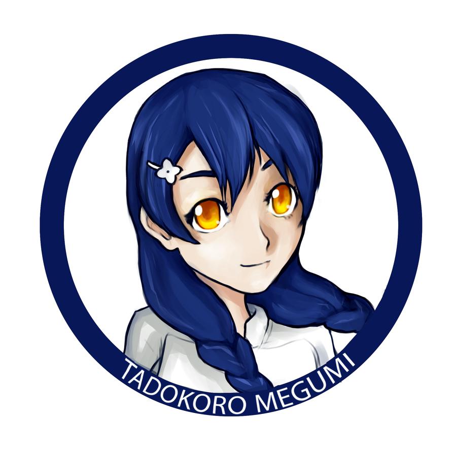 Tadokoro Megumi by tiagorcp