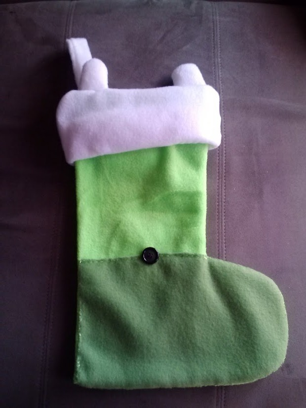 Adventure Time Chirstmas stocking by chaiiro03