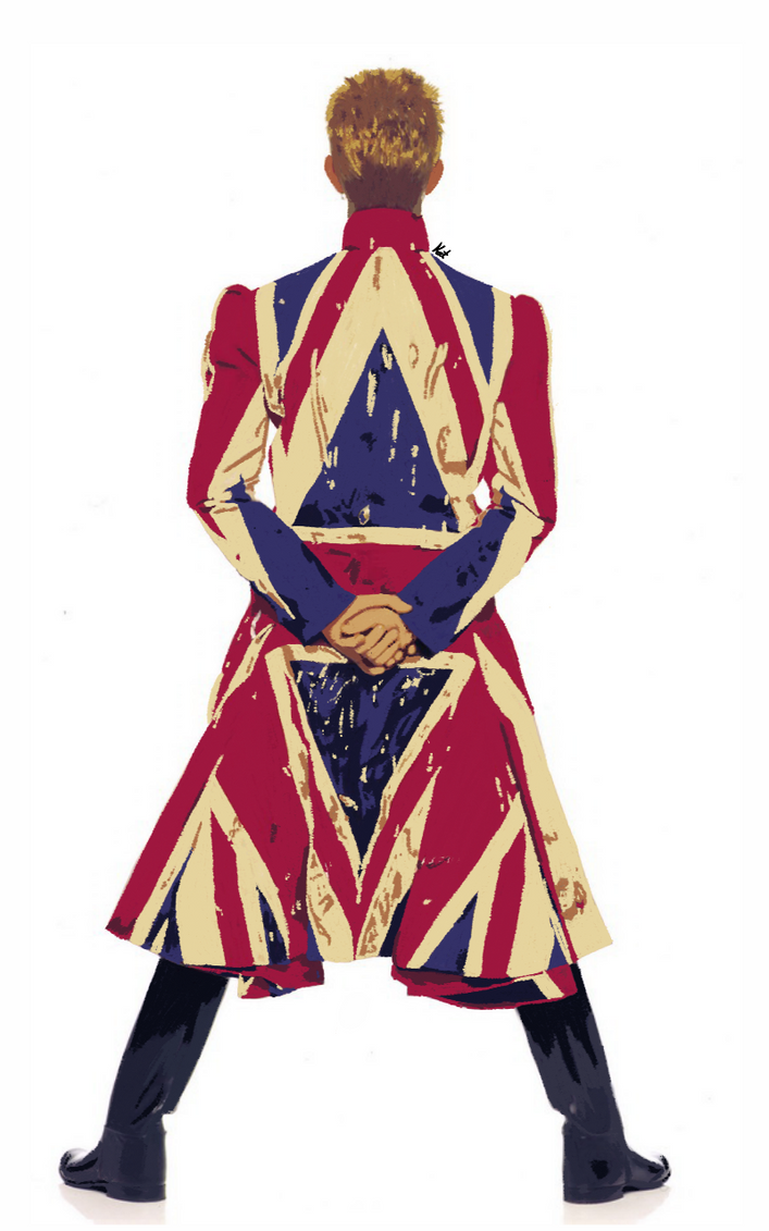 David Bowie Earthling by chaiiro03 on DeviantArt