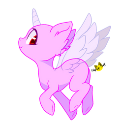 Mlp Base_Fly away by Flapsy-Puff