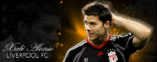 Xabi Alonso sig by TheReds-1892