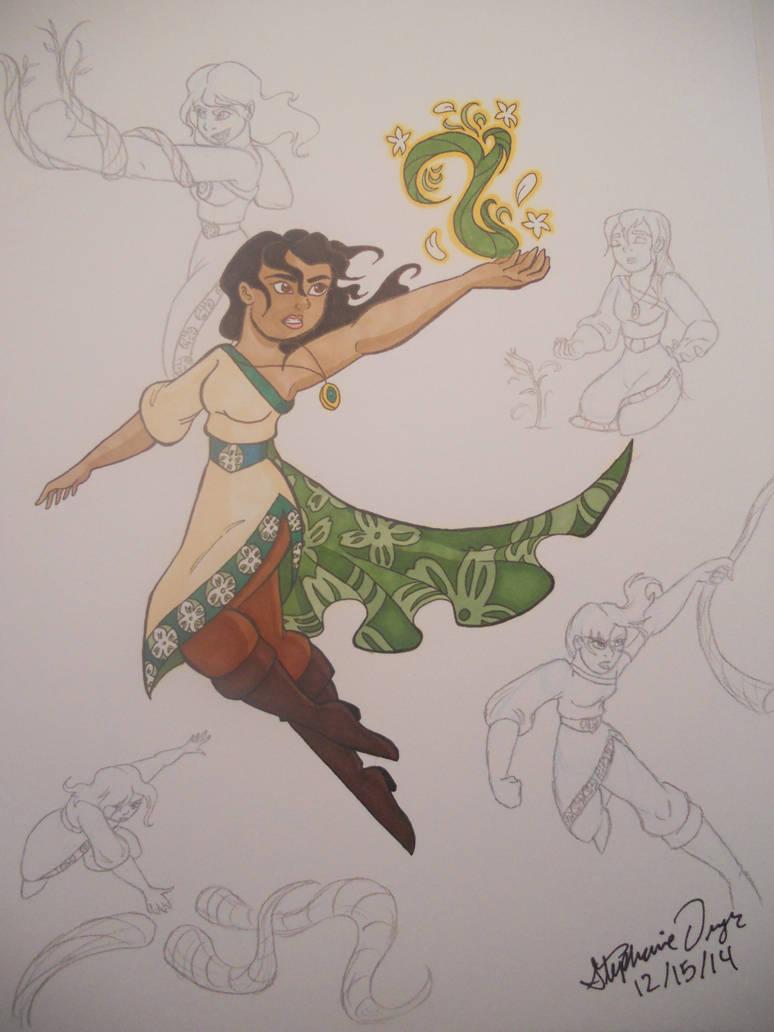Mutia's Earth Magic