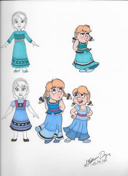Elsa Color Motif (Childhood)