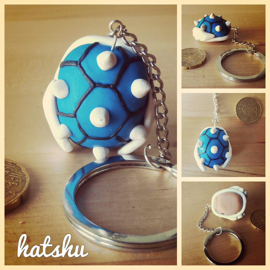 Blue Koopa Shield by hatshu