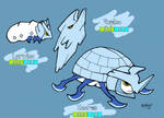 Fakemon: Larvice, Pupice and Iceros