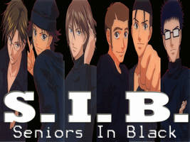 Seniors In Black by bipura