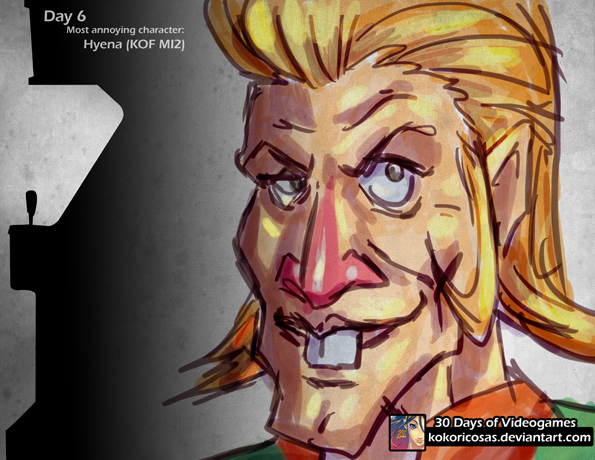 9 Most Annoying Cartoon Characters : Day most annoying character by kokoricosas on deviantart