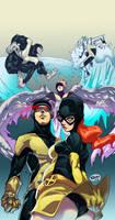 X-Men by Kokoricosas