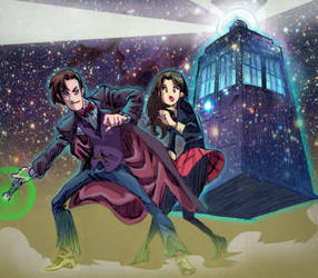 The 11th Doctor Who by Kokoricosas