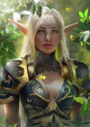 Green Elf by Shasmy