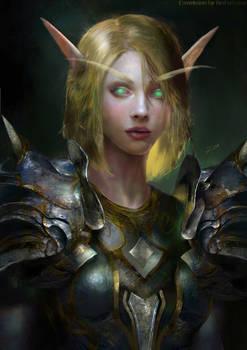 Green Blood Elf