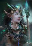 Green Lady Warrior
