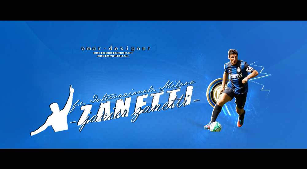 Javier Zanetti II by Omar-Designer
