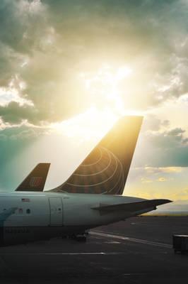Plane in Denver