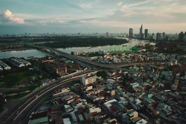 View of Saigon