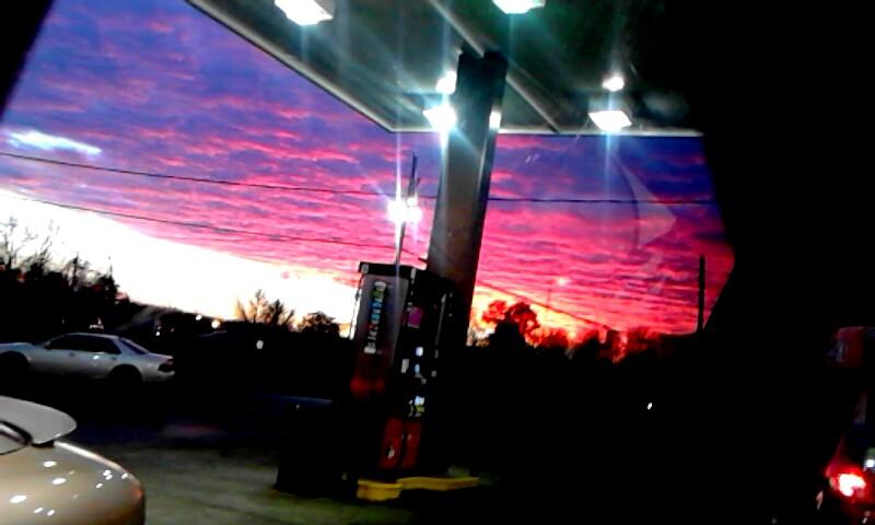 Pink Sky by kaceymears
