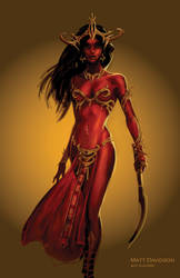 Dejah Thoris, Princess of Helium by ScaleyScribe