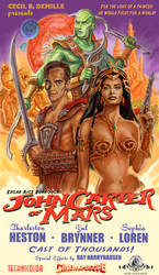 John Carter of Mars by Cecil DeMille Poster