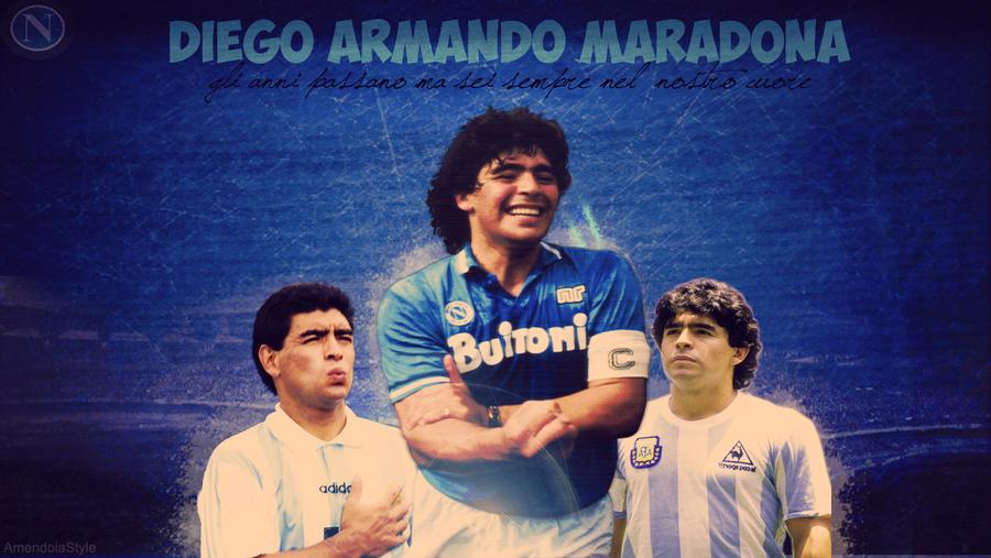 Diego Armando Maradona Wallpaper Hd By Mattiaamendola On Deviantart