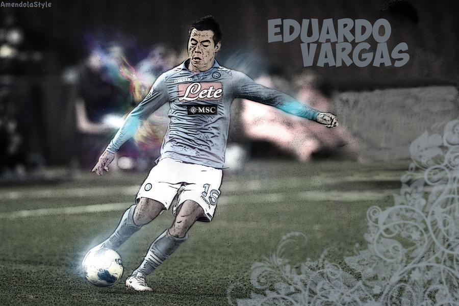 Eduardo Vargas Wallaper Con Vector! By MattiaAmendola On