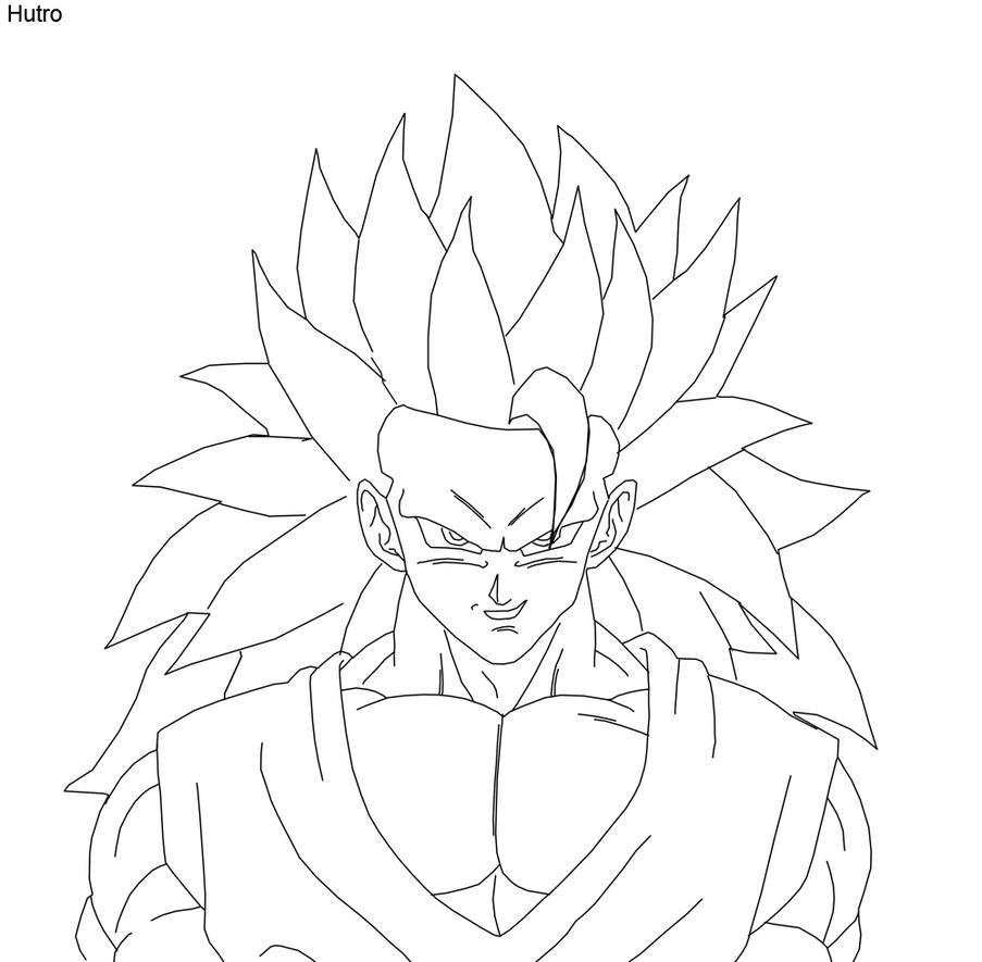 Dessin Facile Goku