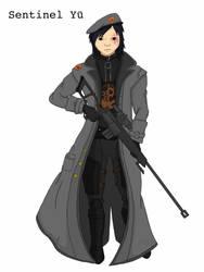 Sentinel Yu (Fallout OC)