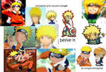 my first naruto collage
