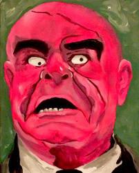 Portrait of tor johnson by kreepykevsart