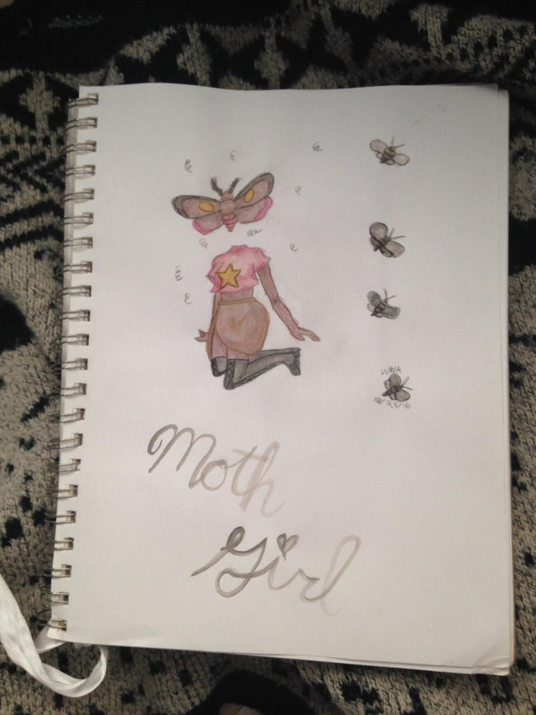 Moth Girl by whynotaspen