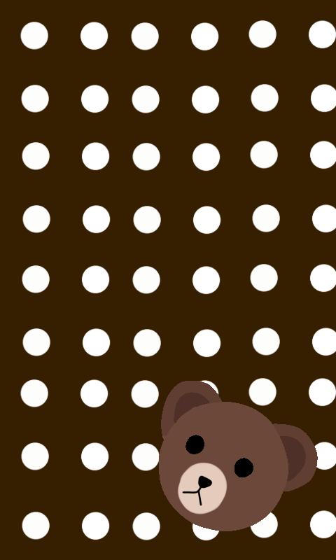 Brown From Line Wallpaper By Hanamiyuka Chan On Deviantart