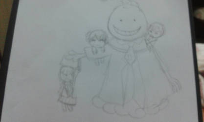 Assassination Classroom-sketch doodle