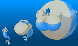 Aqua the Mermaid Blimp (full sequence)