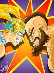 R.Mika vs Zangief by caiojhonson