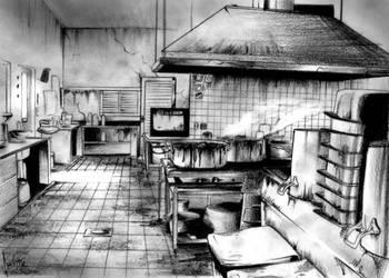 Nasty Kitchen by caiojhonson