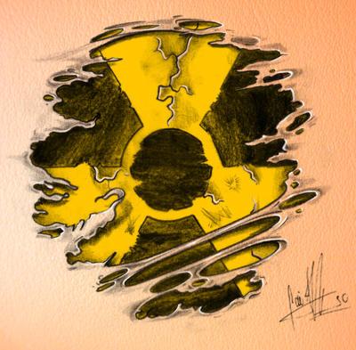 nuclear symbol tattoo by caiojhonson on deviantart. Black Bedroom Furniture Sets. Home Design Ideas