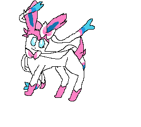 Sylveon by Fawnspirit24