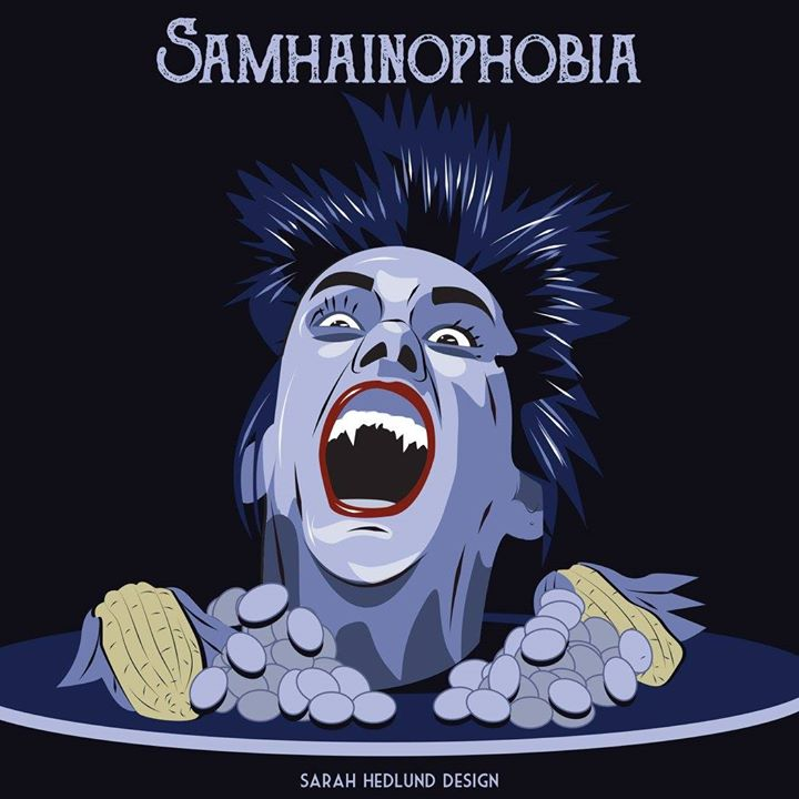 Day 31, Samhainophobia: Fear of Halloween by SarahHedlundDesign on ...