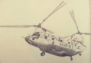 CH-47J by KEEDR