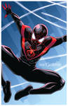 Miles Morales Spider-Man by Lee Xopher