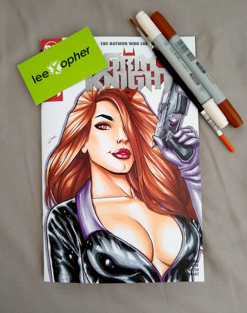 Talia Sketch Cover by Lee Xopher by leexopher