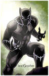 Black Panther by Lee Xopher
