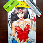 Wonder Woman by Lee Xopher