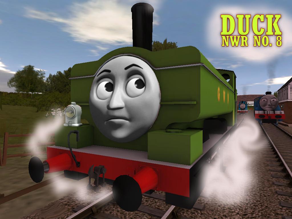 Trainz Thomas Friends Donald Duck – Dibujos Para Colorear