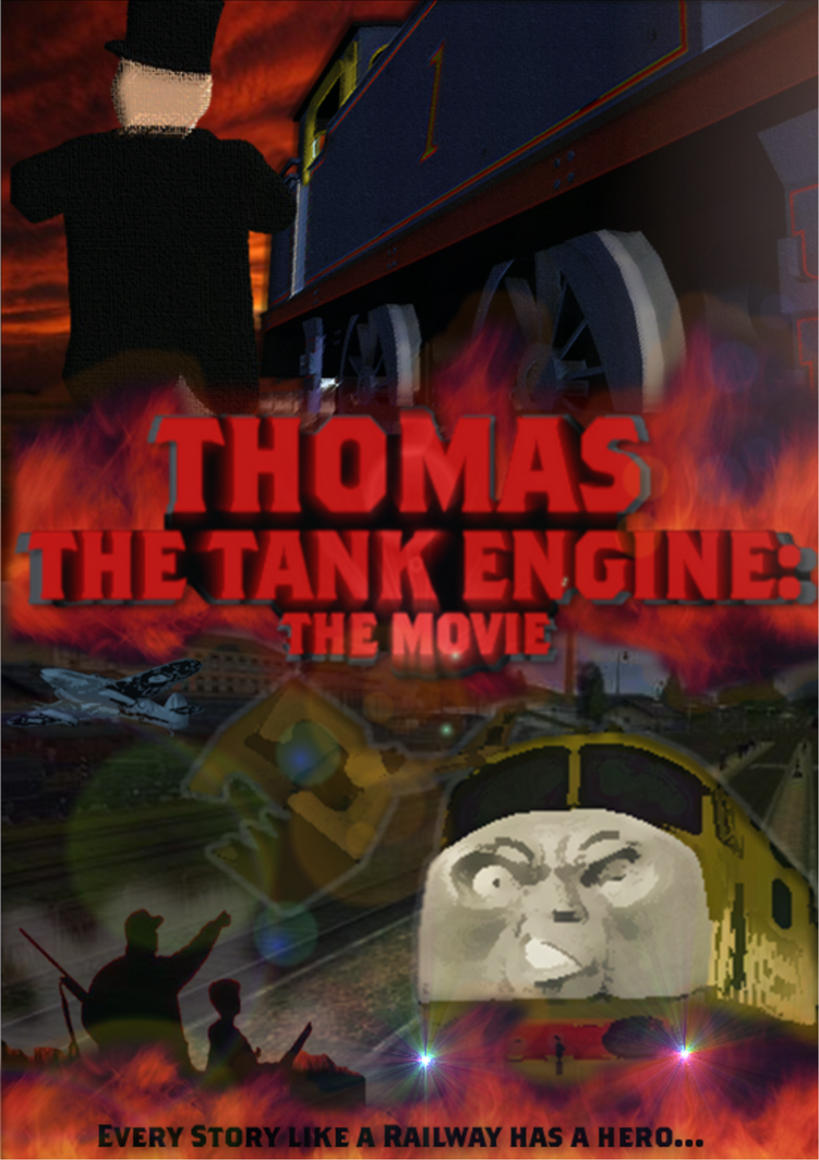 thomas the tank engine official poster by thedirtytrain1