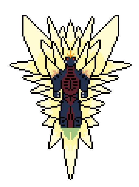 SpaceGodzilla (Flying Form) by Gojilion91 on DeviantArt