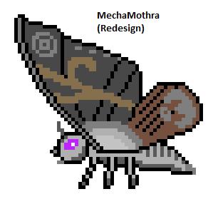 MechaMothra (Redesign) by Gojilion91