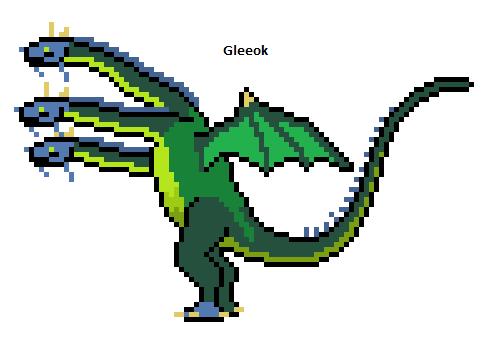 Gleeok by Gojilion91