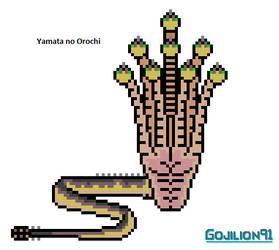 Yamata no Orochi by Gojilion91