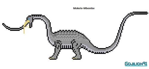 Mokele-Mbembe by Gojilion91